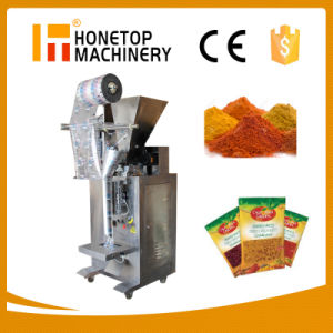 Fully Automatic Spice Powder Small Pouch Packing Machine pictures & photos