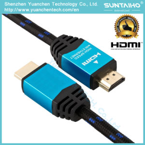 High Speed 24k Gloden Plated HDMI Cable 1.4V with Ethernet for 3D pictures & photos