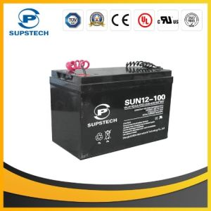 Lead Acid Battery for Low Frequency UPS (12V 100AH) pictures & photos