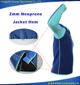 Men 2mm Neoprene Lycra Fabric Jacket Surfing Swimming Wetsuit pictures & photos