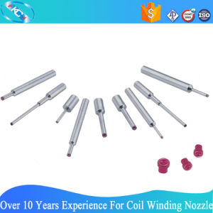 DIY Customized Ruby Tipped Tungsten Carbide Nozzle for Coil Winding Machine pictures & photos