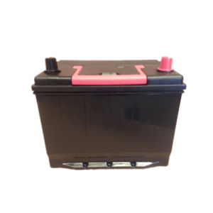 JIS Mf Car Batteries 80d26r Nx110-5 with Charge Level Indicator pictures & photos