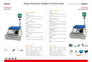Cash Electronic Scale for Covenient Store by Using Internet Magagement pictures & photos