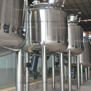 Sanitary Magnetic Stirring Tank for Injection with Bottom Magnetic Stirrer pictures & photos
