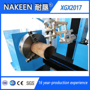 CNC Steel Pipe Bevel Plasma Cutting Machine