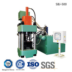 Iron Chippings and Shavings Hydraulic Briquetting Press Metal Scrap Briquette Machine-- (SBJ-500) pictures & photos