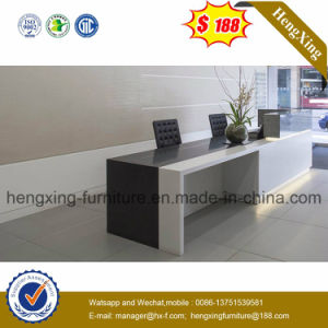 Wooden Reception Office Desk (HX-5N458) pictures & photos