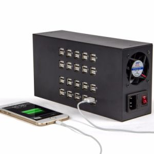 40 Ports 300W 60A USB Power Socket Charger Station Home USB Charger Adaptor pictures & photos
