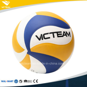 Hot Sale PVC Material 18 Panels Branded Volleyball pictures & photos