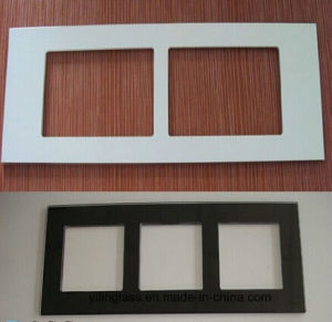 4mm Clear Tempered Glass Panel for Switch Cover pictures & photos