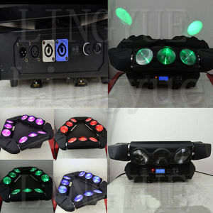9X12W 4in1 RGBW UFO LED Moving Head Spider Beam Light pictures & photos