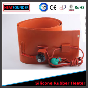 120V Flexible Silicone Rubber Heated Mat/Plate/Pad/Sheet pictures & photos