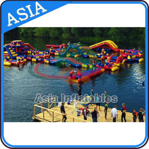 Beach Inflatable Water Park, Lake Floating Water Games, Commercial Aqua Park pictures & photos