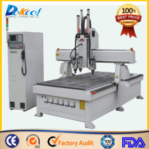 CNC Wood Cabinet Carving Drilling Router Machine Factory Price pictures & photos