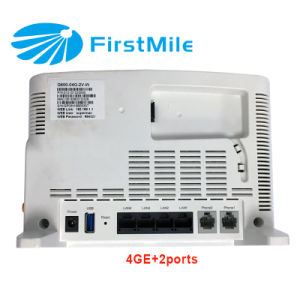 4ge WiFi FTTH Gpon Ont Gpon ONU pictures & photos