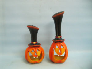 Halloween Pumpkin Ceramic Arts and Crafts (LOE2382-A24z) pictures & photos