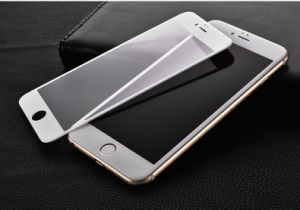3D Full Covered Soft Edge Tempered Glass Phone Film for iPhone 7/7 Plus Protector pictures & photos