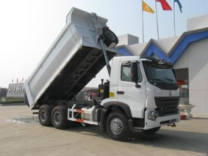 Sinotruk Luxury Front Tipping Truck with Hyva Hydraulic pictures & photos