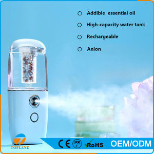 Portable Anion Beauty Equipment Facial Steamer Battery Sprayer Skin Care pictures & photos