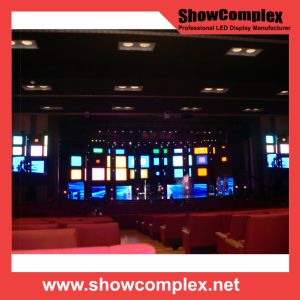 P6 Full Color Oudoor SMD 3535 LED Rental Display Screen with Slim Cabinet pictures & photos