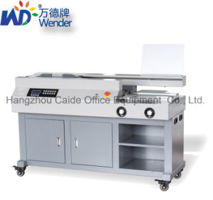 Automatic Perfect Glue Binder Glue Binding Machine (WD-60SA3) pictures & photos