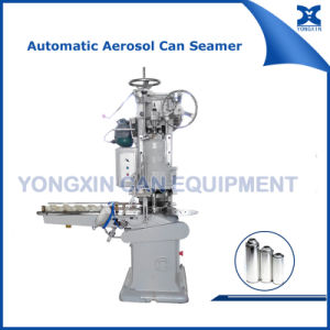 Automatic Spray Aerosol Can Sealing Equipment pictures & photos