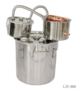Home Whiskey Brandy Stainless Stills Alcohol Distillers Winemaking Equipment Kit pictures & photos