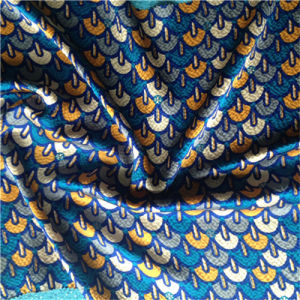 Printed Pearl Satin in Small Hills pictures & photos