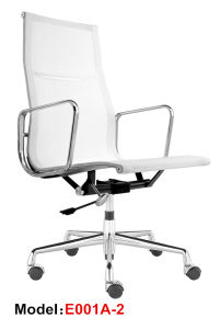 Office Ergonomic Executive Aluminium Eames Swivel Mesh Chair (E001A-2) pictures & photos