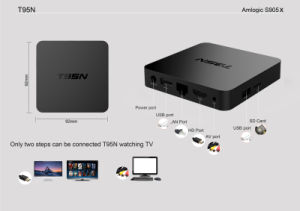 T95n Mini M8s 2+8GB Amlogic S905 Andriod 6.0 TV Box Kodi 16.0 pictures & photos