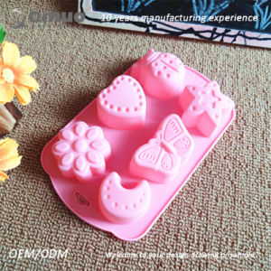 Remarkable Nonstick Performance Silicone Cake Molds for Making Sweetmeats pictures & photos