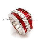 Pure 925 Silver Jewelry Gemstone Ring (R1248) pictures & photos