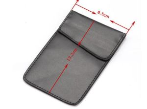 RFID Cell Phone Signal Blocker Jammer Bag Case Pouch Anti Radiation Shield for iPhone pictures & photos