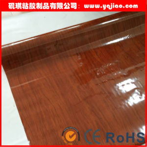 High Gloss Vanilla Furniture PVC Decorative Film pictures & photos