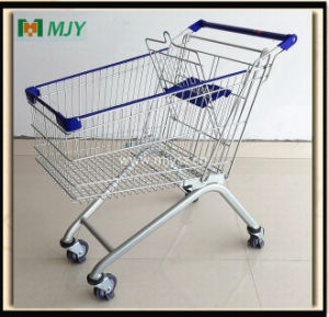 125 Liters European Style Shopping Cart Mjy-125b-E pictures & photos