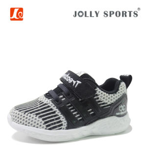 Little Kid Infant Flyknit Children Baby Boys Girls Shoes pictures & photos