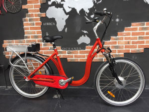 Low Step Design Electric Bike Lady′s Ebike for Sale pictures & photos