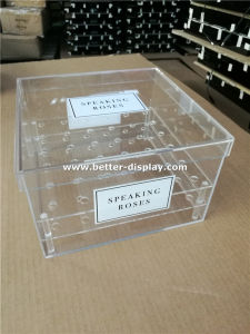 Custom Acrylic Flower Box with Lid pictures & photos