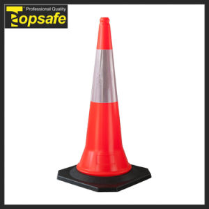 New Designed Black PVC 49*49cm Base 4 Traffic Cones pictures & photos