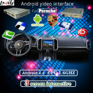 Android GPS Navigation Box and Video Interface for 10-15 Porsche pictures & photos