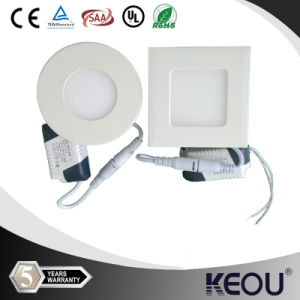 AC85-265 80lm/W PF0.9 3W Recessed Ceiling Panel LED Light pictures & photos