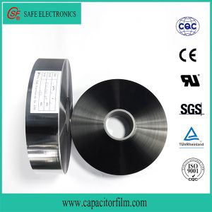 Zinc-Aluminum Alloy Metallized Polypropylene Safety Film with Heavy Edge pictures & photos