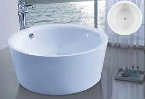 Dia1500mm Round Freestanding Modern Bathtub (AT-6185) pictures & photos