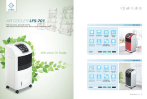 New Idea Electric Fan Summer Fan Cooling Pad Water Cycling and Humidifying Air Cooler Lfs-701A pictures & photos