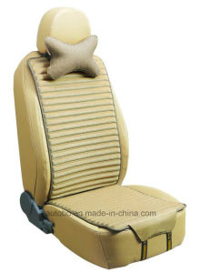 Linen and Velvet Car Seat Cover Double Sides Use-Beige pictures & photos