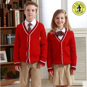 OEM Service School Uniform Manufactures Kids High Quality Primary School Uniforms pictures & photos