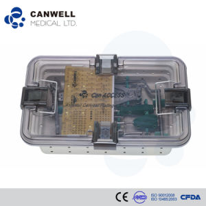 Canwell Anterior Cervical Plate Orthopedic Plate Medical Health Equipment Spine Plate pictures & photos