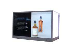 32 Inch Standalone Transparent Display Showcase for Advertising Promotion pictures & photos