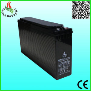 12V 150ah Front Terminal Lead Acid Battery for Security Systems pictures & photos