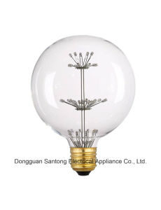 G30/G95 Antique Starry Decoration LED Bulb Starry Fireworks Vintage Edison LED Bulb Pendant Lighting pictures & photos